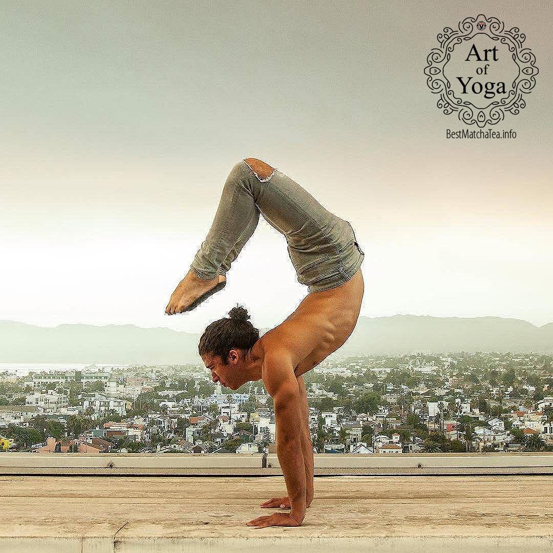 8 best matcha green tea yoga poses