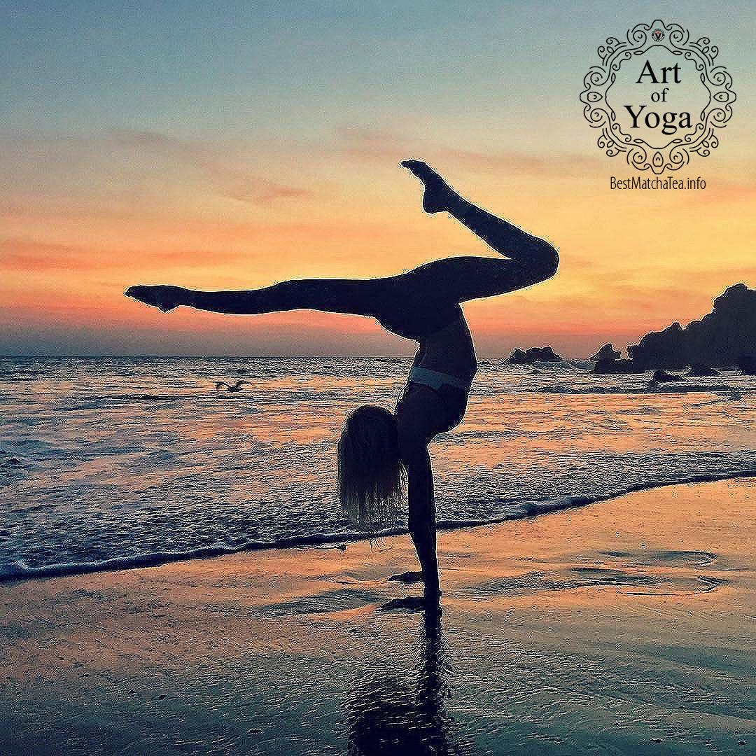 9 best matcha green tea yoga poses